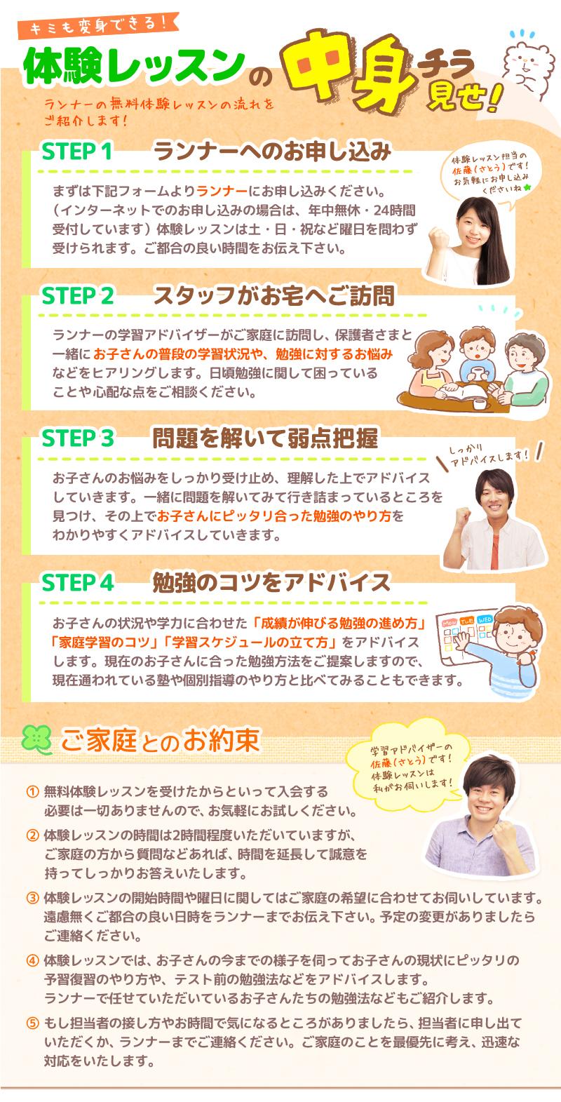 (東区のお客様のページ)勉強のコツをアドバイス